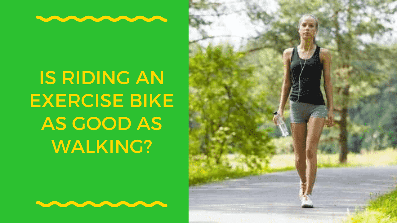Is Riding an Exercise Bike as Good as Walking